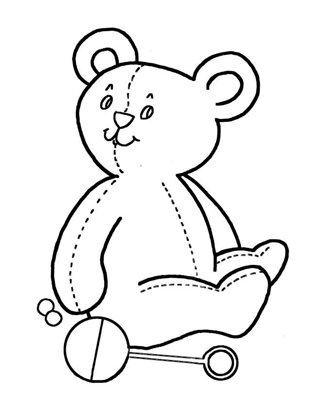 Easy Coloring Pages For Kids 5452