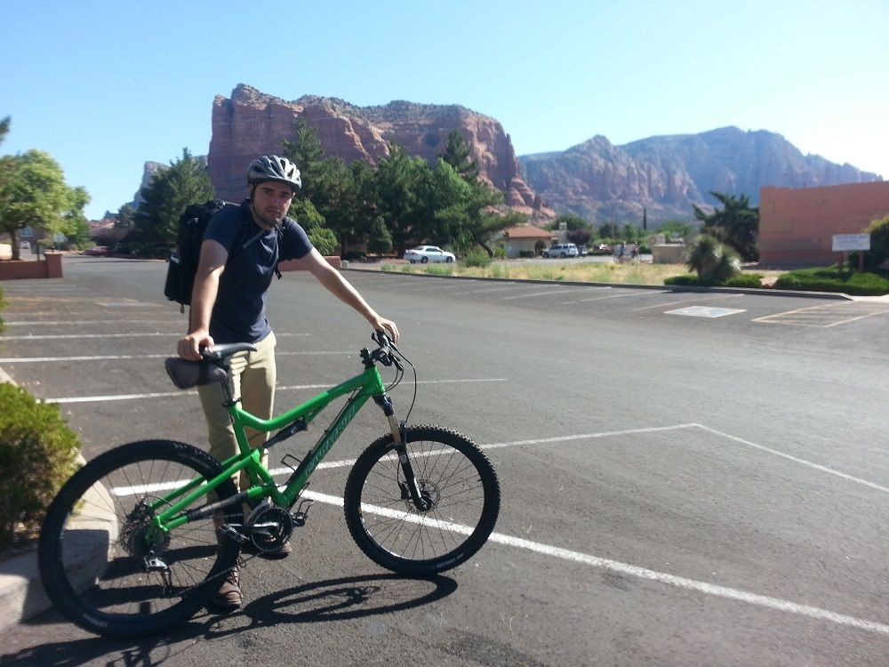 We discovered the best way to see Sedona is actually from the back of a bike. Stop by The Bike and Bean for a cup of adrenaline, a bike and a personalized route through red rock country.
