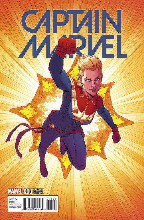 Captain Marvel (Vol. 9)  #3 1:25 Variant