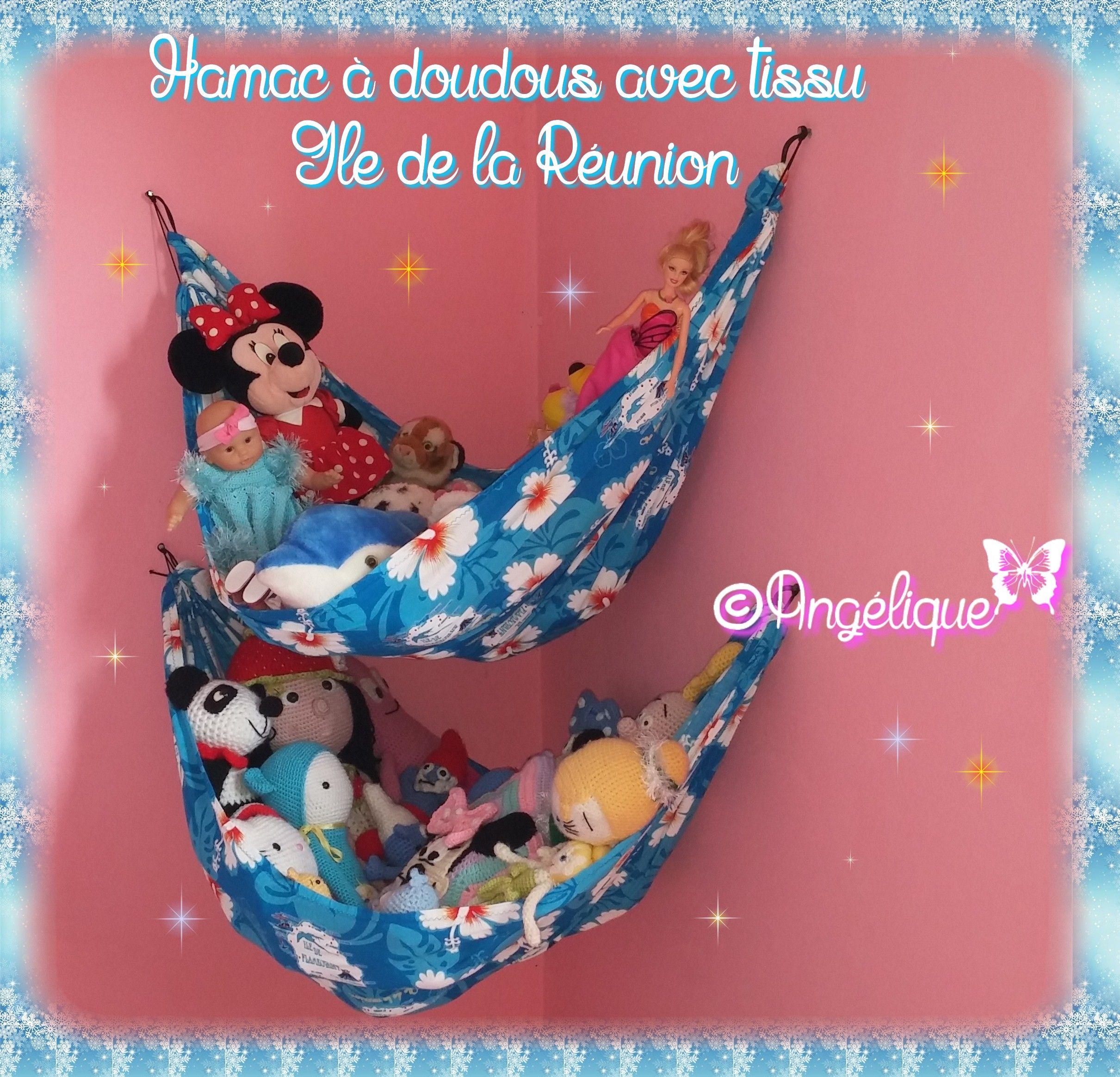 Tissu De La Reunion hamac à doudous pour la chambre de ma tissu avec du tissu de