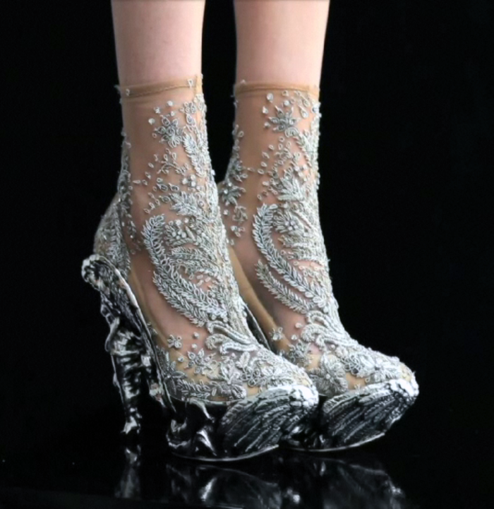 Alexander Mcqueen Angel Heels Shoes That Look Like Your