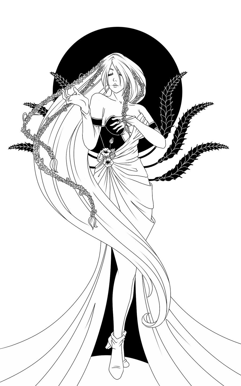 demeter by miyu yoru deviantart com on deviantart goddess