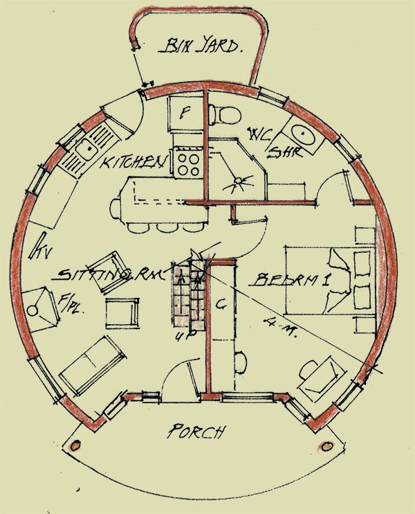 Basic Dome Home S Interior Plans: A Home With Nine Rondavels - Farmer's Weekly