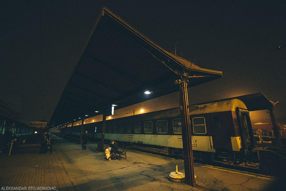 Main railway station, Belgrade
