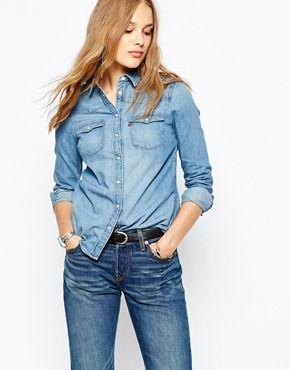 ff9165363db4 Camisa vaquera western de Levi's | jeans...adorables jeans ...