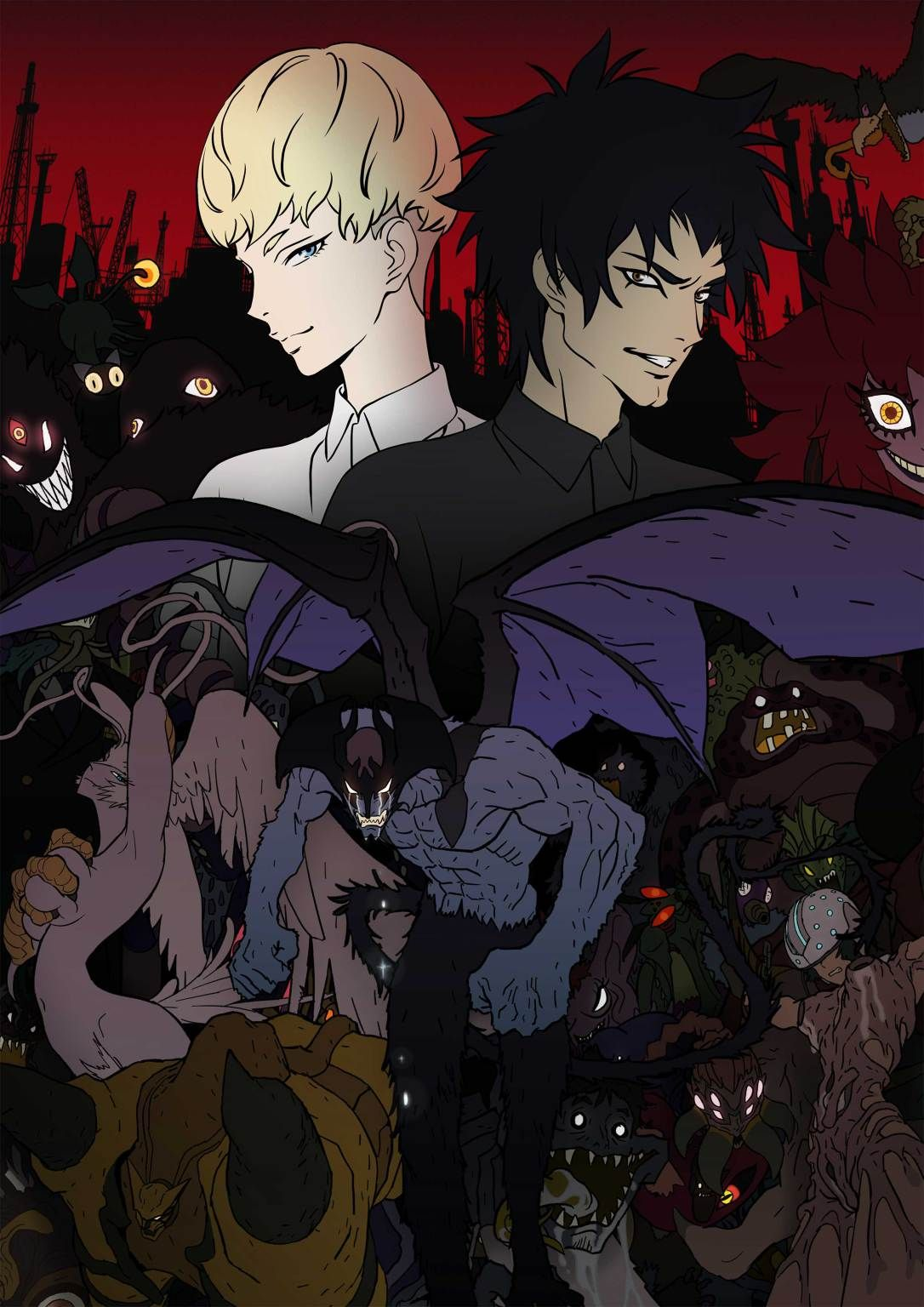 Devilman Crybaby Releases New Trailer and New Key Visual