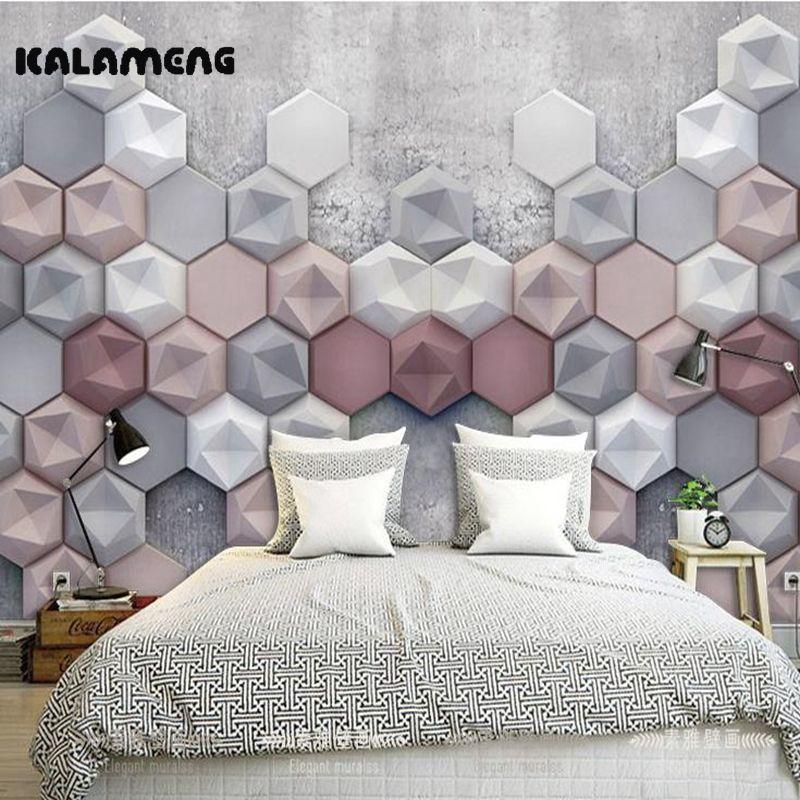 Günstige KALAMENG Kundenspezifische Moderne Luxus Foto Wandbild 3D - moderne luxus wohnzimmer