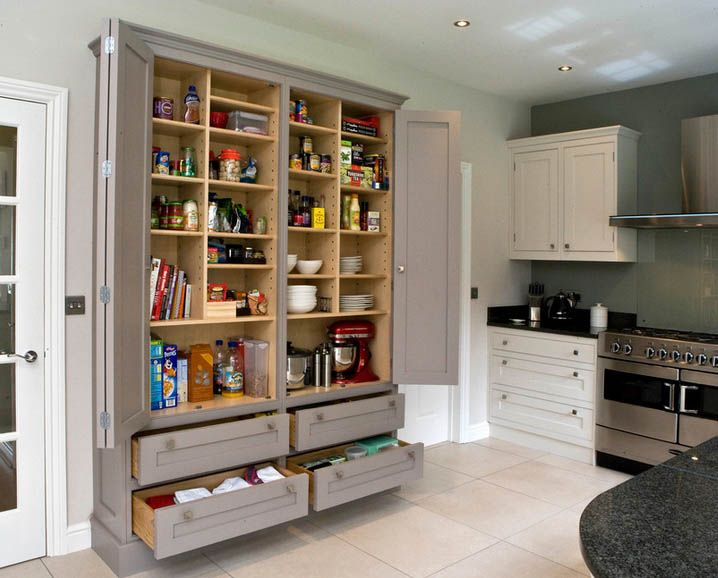 Semi Recessed Pantry Pantry Design Stand Alone Kitchen Pantry Built In Pantry