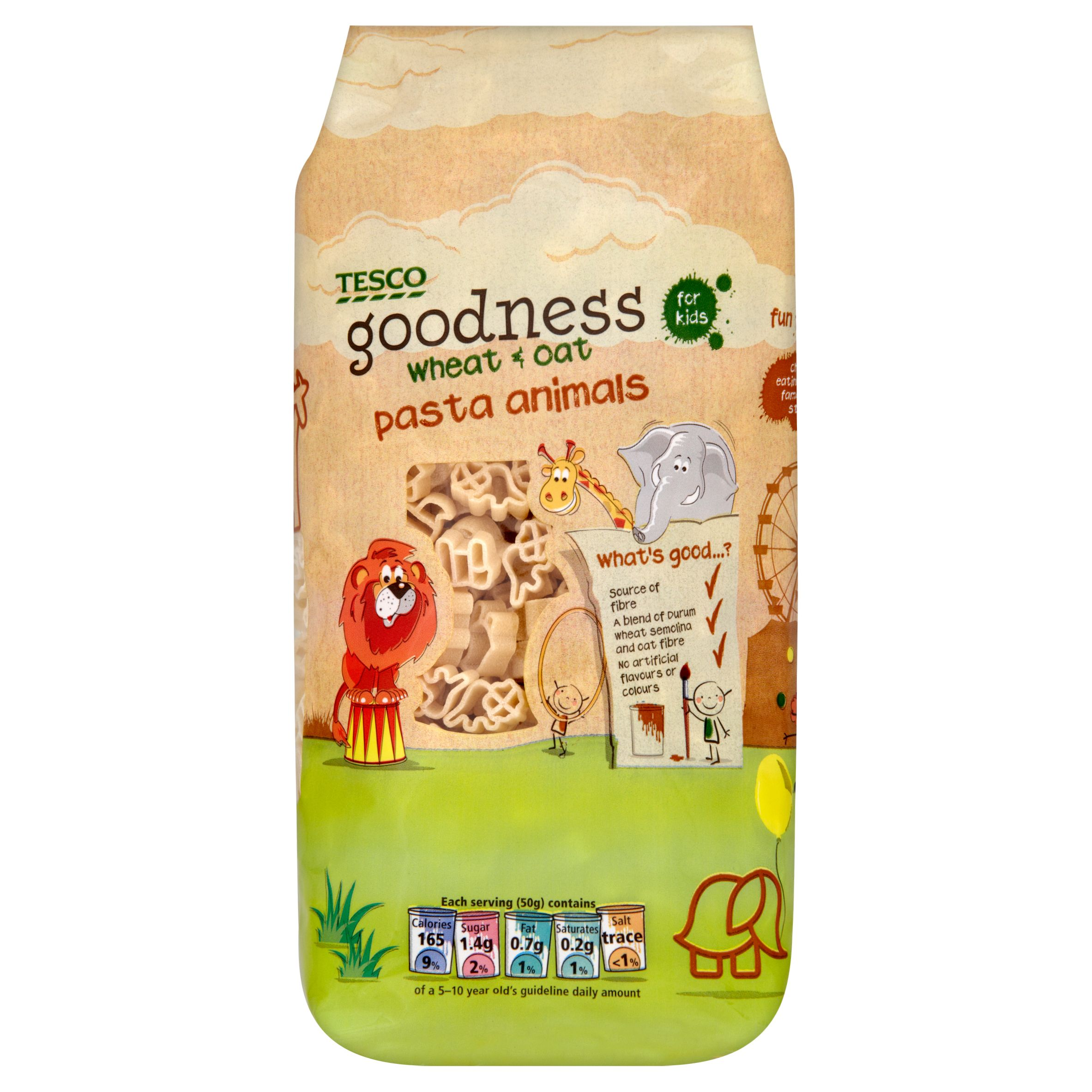 Tesco Goodness Wheat Oat Pasta Animals Good For Kids Tesco Groceries Drying Pasta Tesco
