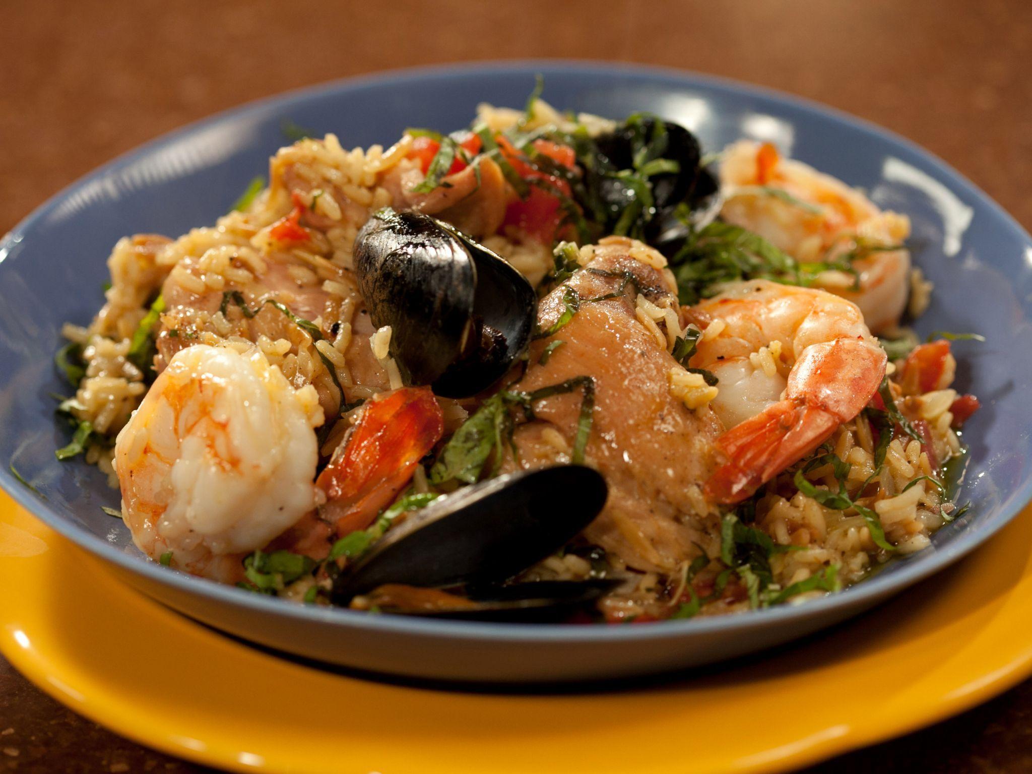 Venetian style paella recipe paella venetian and food venetian style paella forumfinder Images
