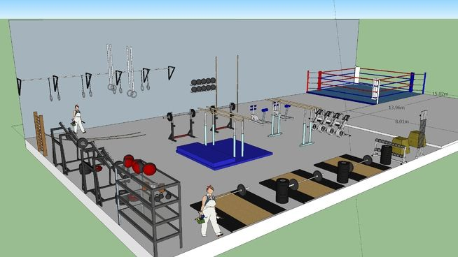Fighthouse 3d Warehouse Gym