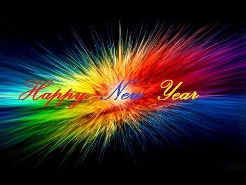 Silvester und Neujahr Glückwunschkarte mit Pinguin - YouTube   La ...