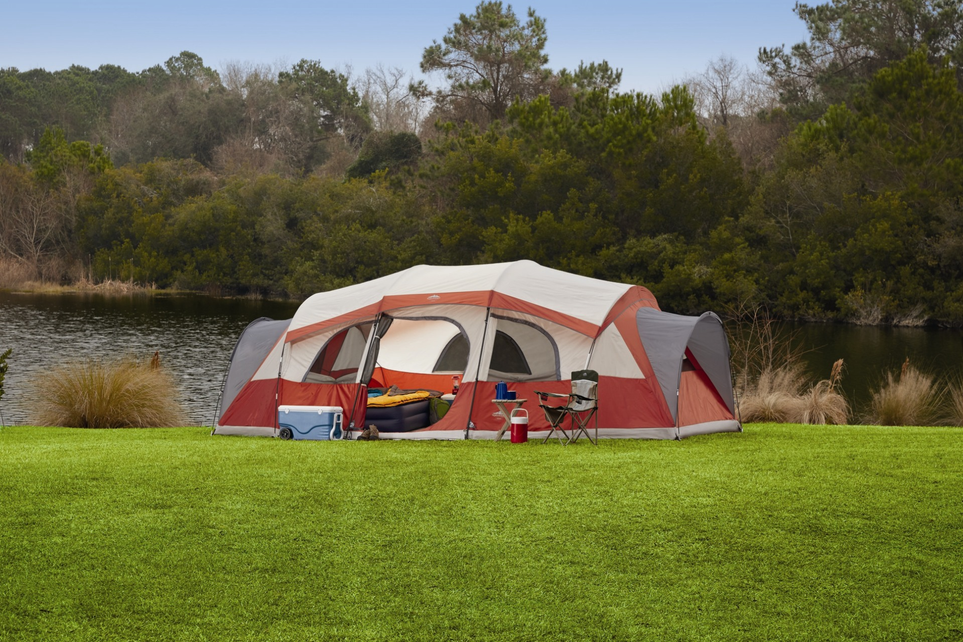 Northwest Territory Homestead 21 ft. x 14 ft. Tent Is the Perfect Way to & Northwest Territory Homestead 21 ft. x 14 ft. Tent Is the Perfect ...