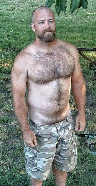 Gross hairy man fetish