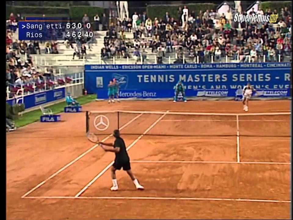 Marcelo Rios vs Davide 2001 Rome 1stRound ᴴᴰ