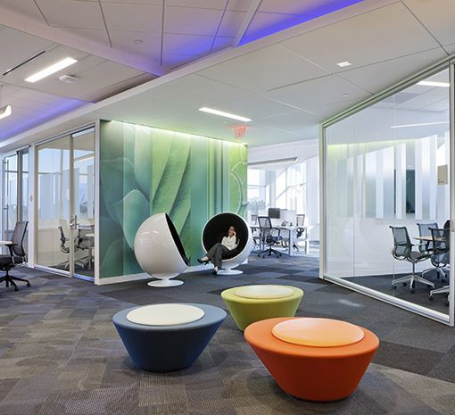 Four Ways To Better Interior Design Installations: Workplace Featured Installation