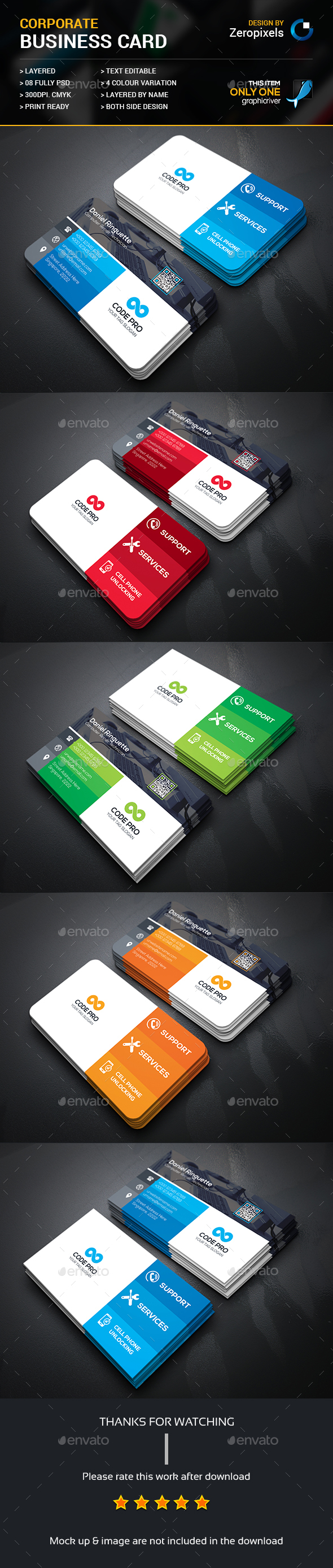 Computer Repair Business Card Template PSD. Download here: http ...