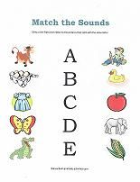 Lots of free preschool printables to help teach the alphabet to ...