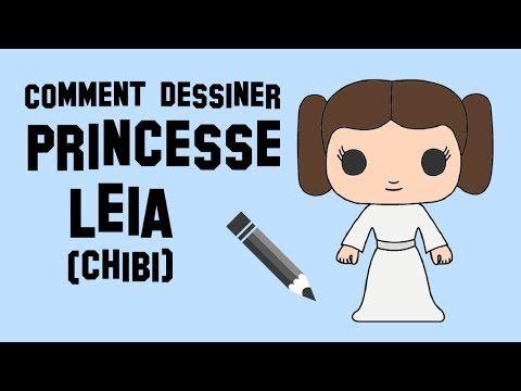 Comment dessiner princesse leia chibi star wars - Dessin facile star wars ...