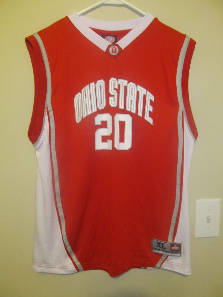 f8396a67a2d Ohio State Buckeyes Basketball jersey - Genuine Stuff Youth X-large  #GenuineStuff #OhioStateBuckeyes