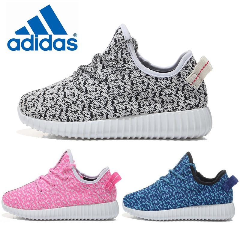 Free shipping 2015 new hot kanye adidas Yeezy 350 Boost low boy girls  sports shoes running