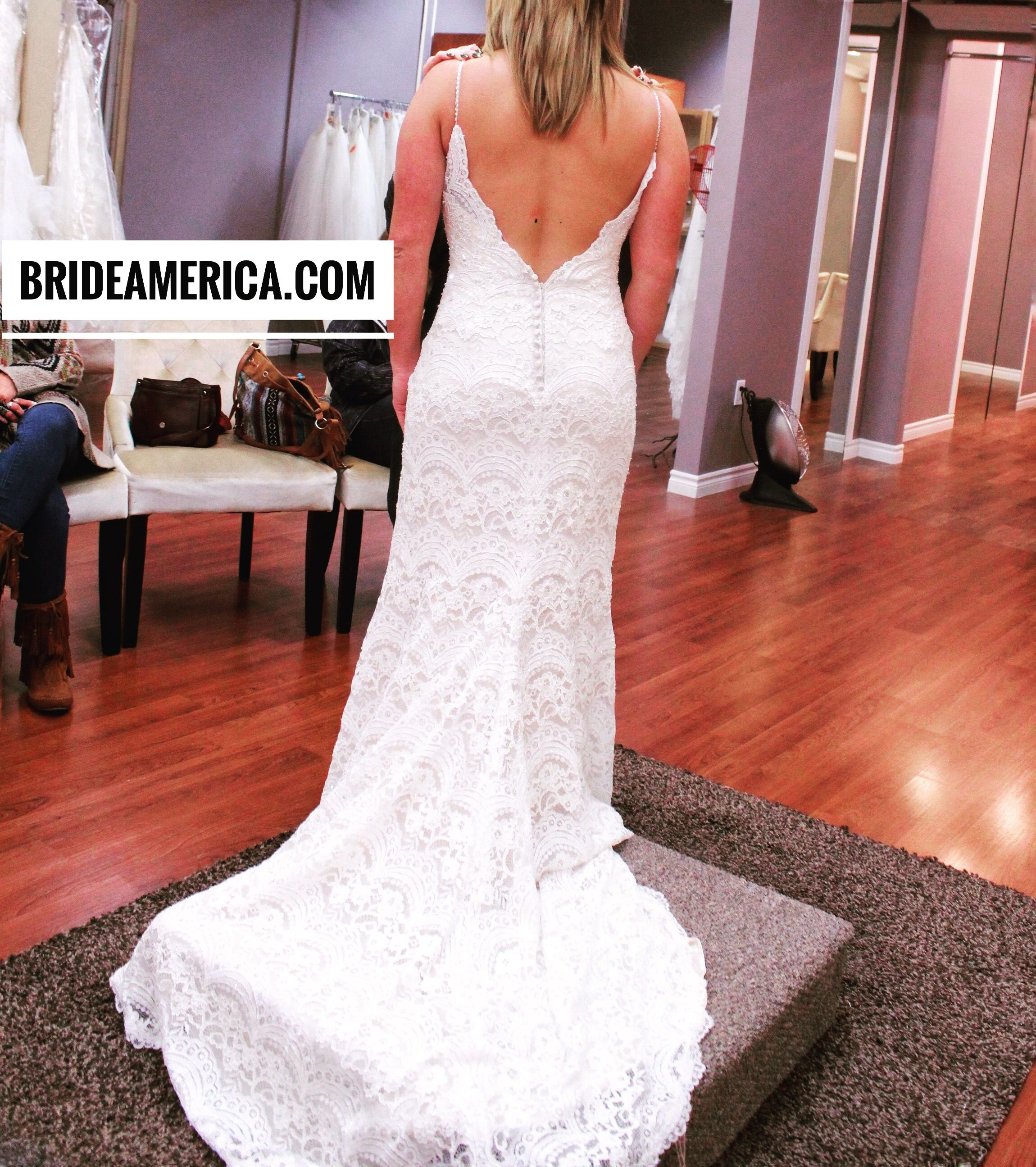 Superb Wedding Dress at Bridal and Veil in San Diego California