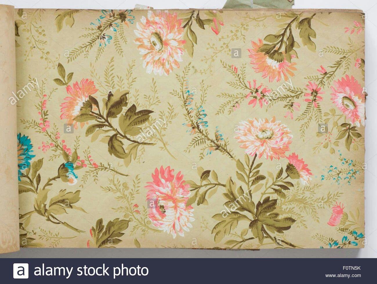 Victorian Floral Wallpaper Victorian Wallpaper Wallpaper Tapestry