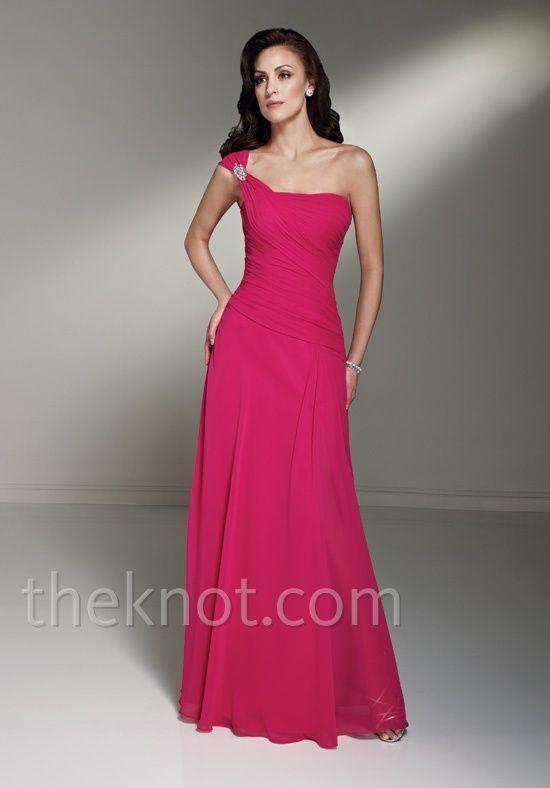 Dress features beading.