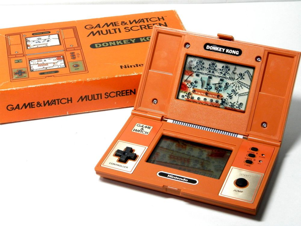 Nintendo Game & Watch Multi Screen Donkey Kong DK52 Boxed