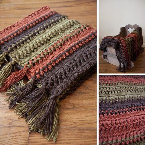 300d088e7dde Hairpin Lace Baby Blanket - Free Pattern (Crochet For Children ...