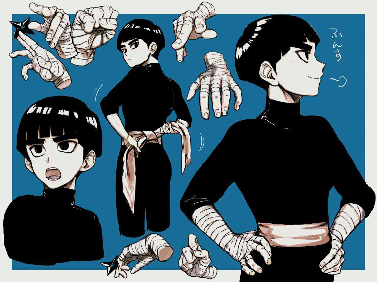 Embedded Lee naruto, Rock lee naruto, Naruto fan art