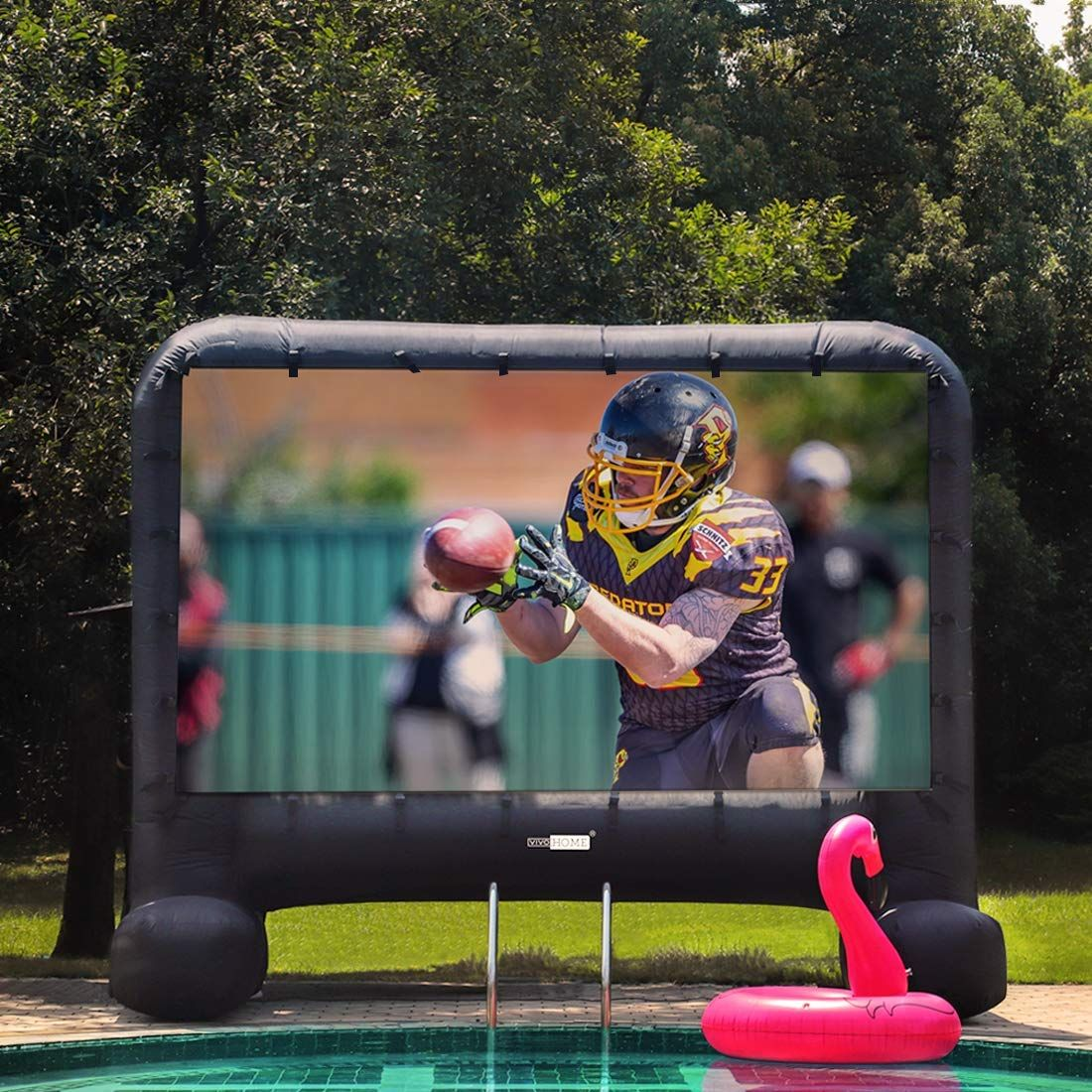Off sale vivohome 14ft indoor and outdoor inflatable blow