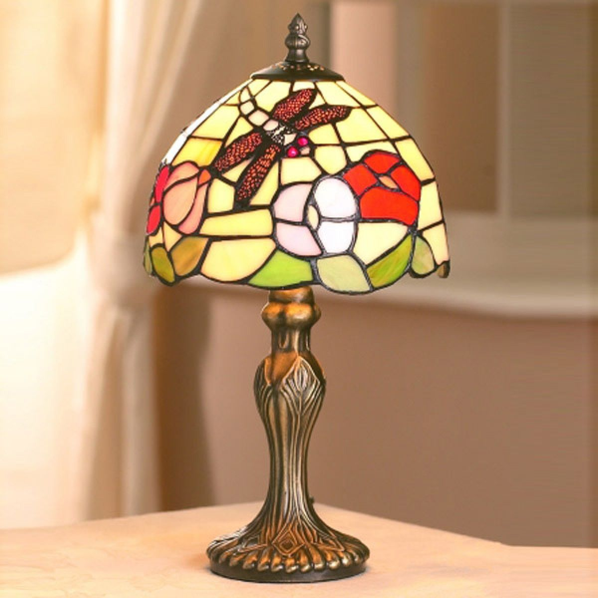 Dragonfly Tiffany Table Lamp (Small) +