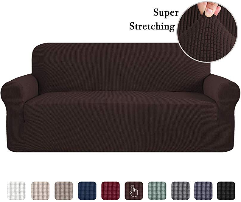Sofa Slipcovers 3 Seater Sofa Covers For 3 Cushion Couch Sofa Slip Cover Brown Couch Covers Lounge Cover Kids Sofa Co Slipcovered Sofa Sofa Covers Couch Covers