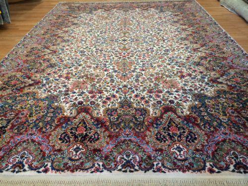 Amazing American 1930s Antique Karastan Rug Fl Oriental Carpet 8 X 12
