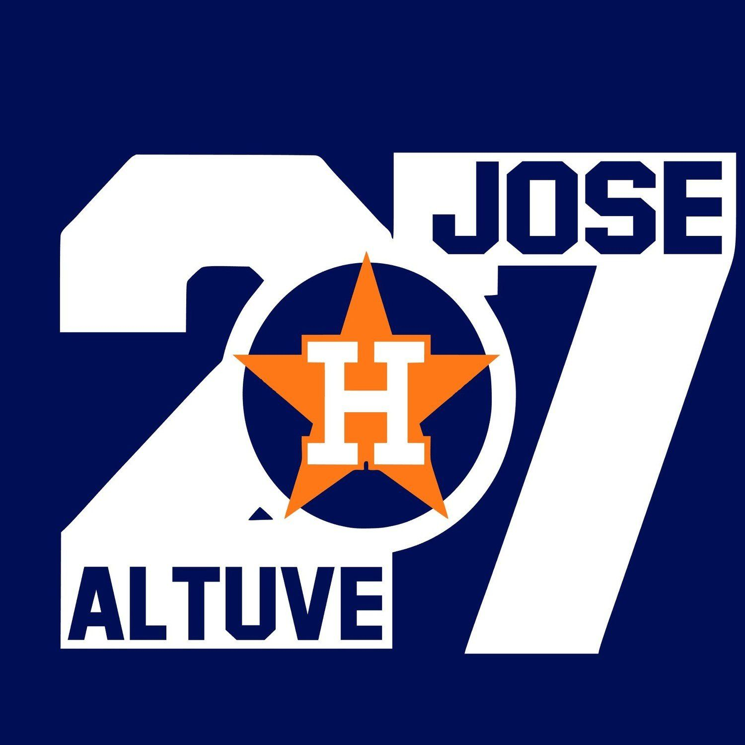 Jose Altuve 27 Houston Astros V2 Svg Jpg Digital Download Astros Svg Files Svg Files Custom Svgs Check Jose Altuve Basketball T Shirt Designs Team Decal