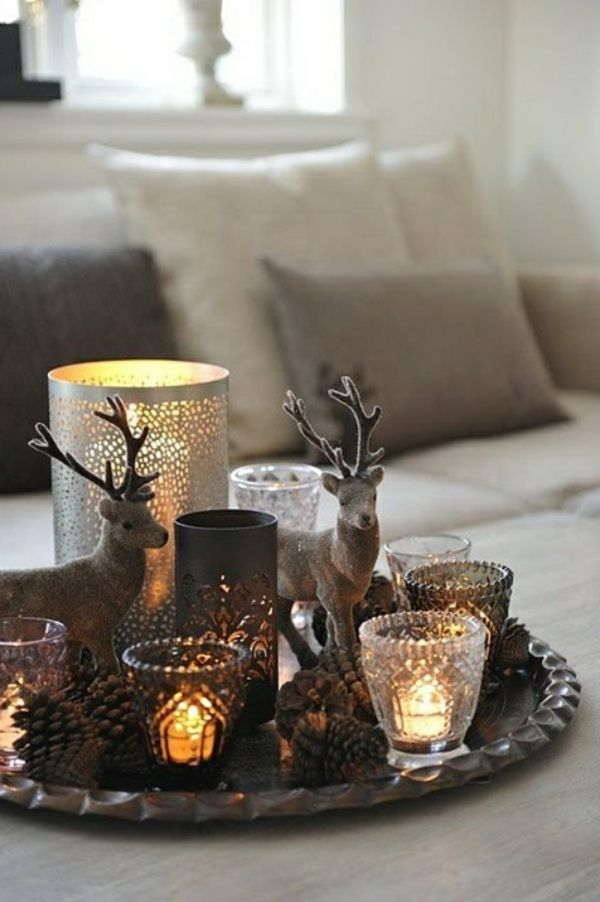 8 Majestic Bilder Von Tischdeko Wohnzimmer Ideen #christmasdeko