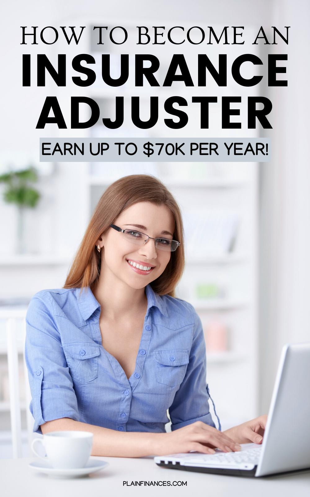 Insurance Adjuster A Rewarding Career In The Insurance Industry Job Career Planning Insurance Industry Business Insurance Money Management