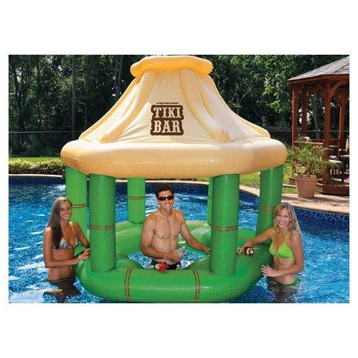 Swimline Tiki Bar Tiki Bar Inflatable Pool Inflatable Swimming Pool