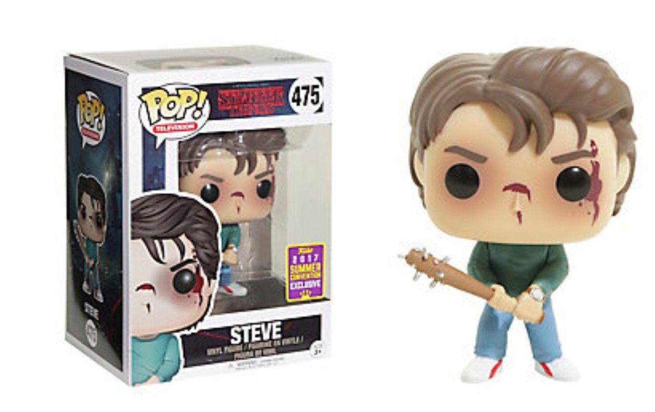 Steve Harrington Pop Figure Stranger Things Funko Pop Stranger