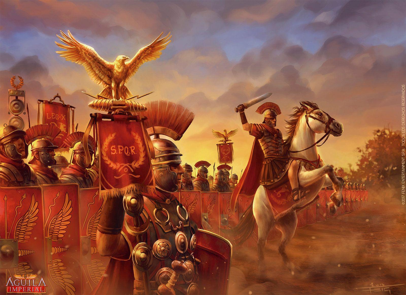 Myl Promotional Illustration By Feig Art Roman Empire Roman Warriors Roman Legion