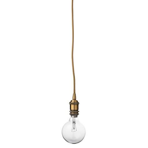 minimalistische lampe mit vintage gl hbirne kupfer textilkabel und kupfer fassung lampen. Black Bedroom Furniture Sets. Home Design Ideas
