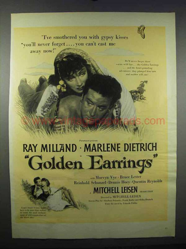Download Golden Earrings Full-Movie Free
