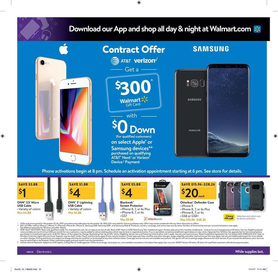 Walmart Black Friday 2017 Ad Scan, Deals and Sales Black