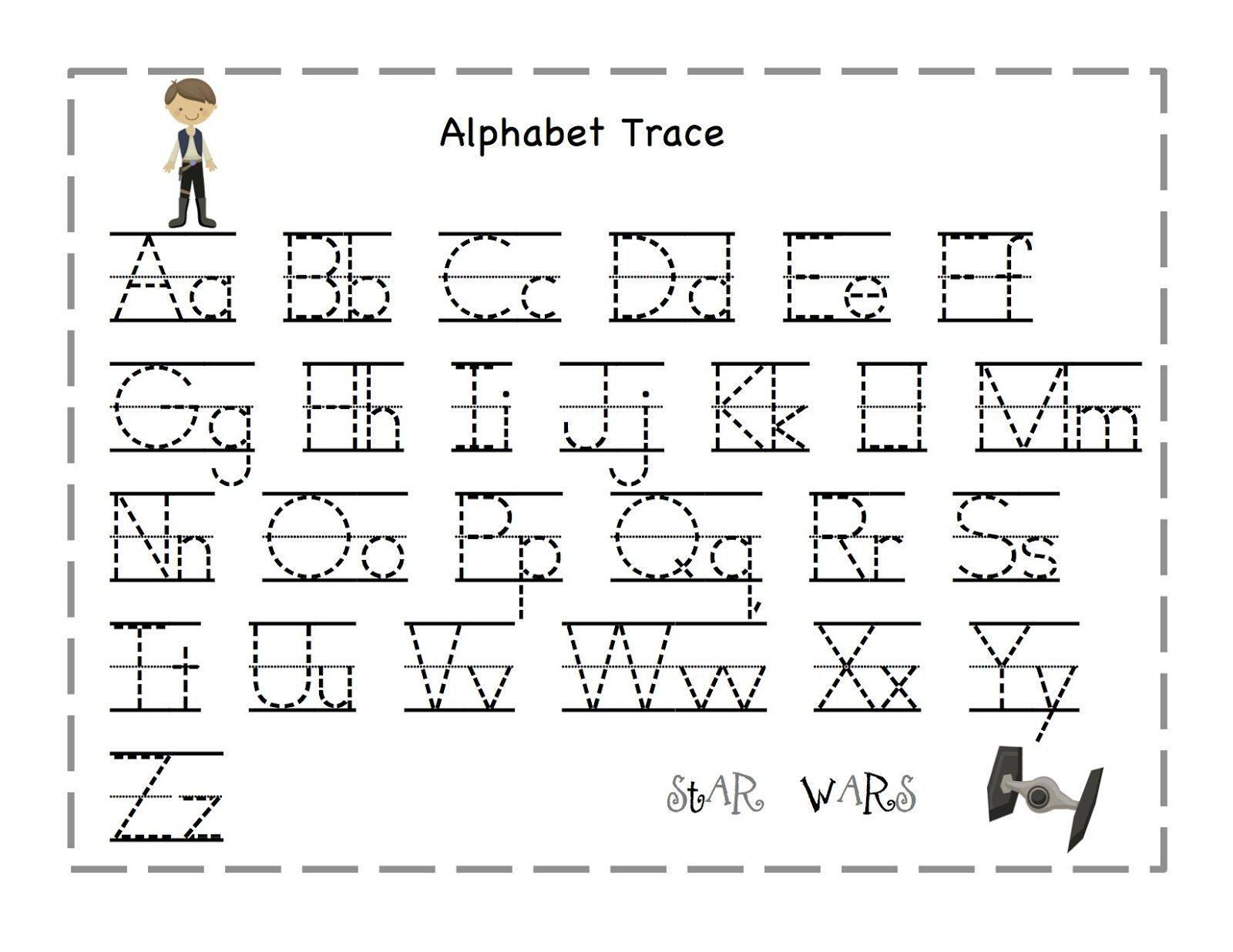8 Free Printable Preschool Worksheets Tracing Letters En