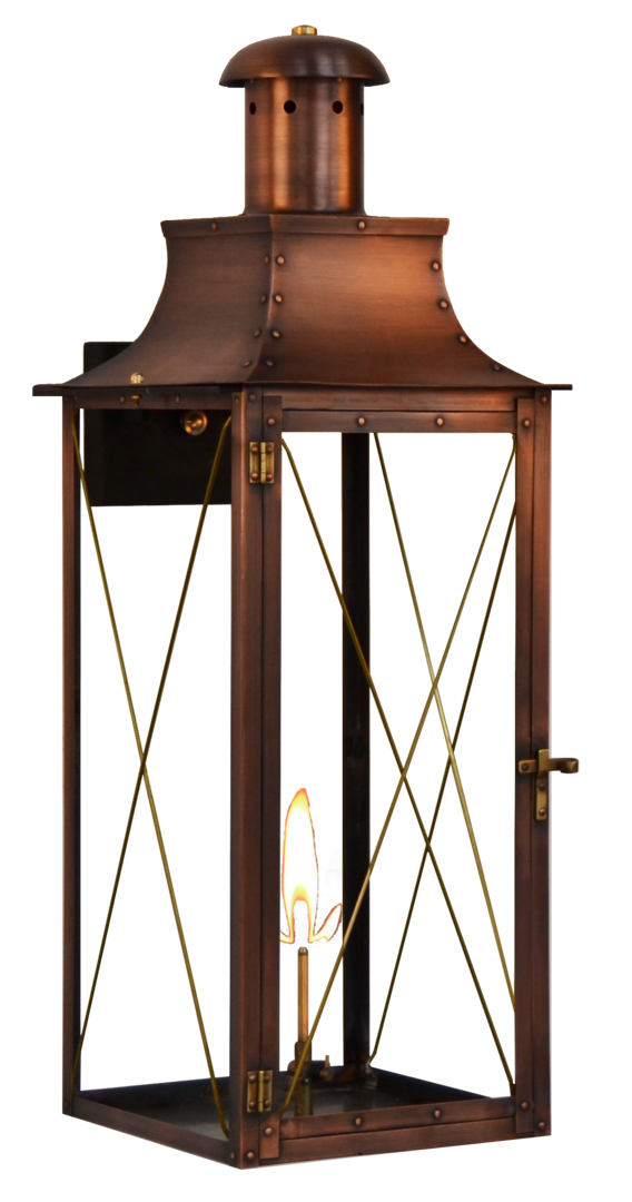 Somerset Lighting products have a great unique copper finish available in Gas or Electric lanterns. With a Somerset Light Your sure to…