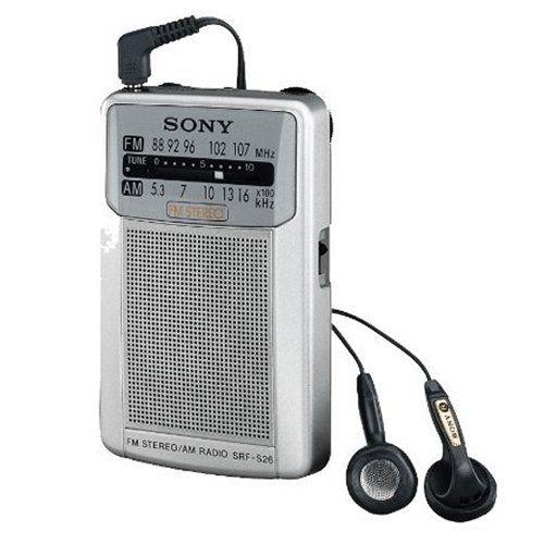 Nice Sony Srf S26 Radio Portatil Color Plata