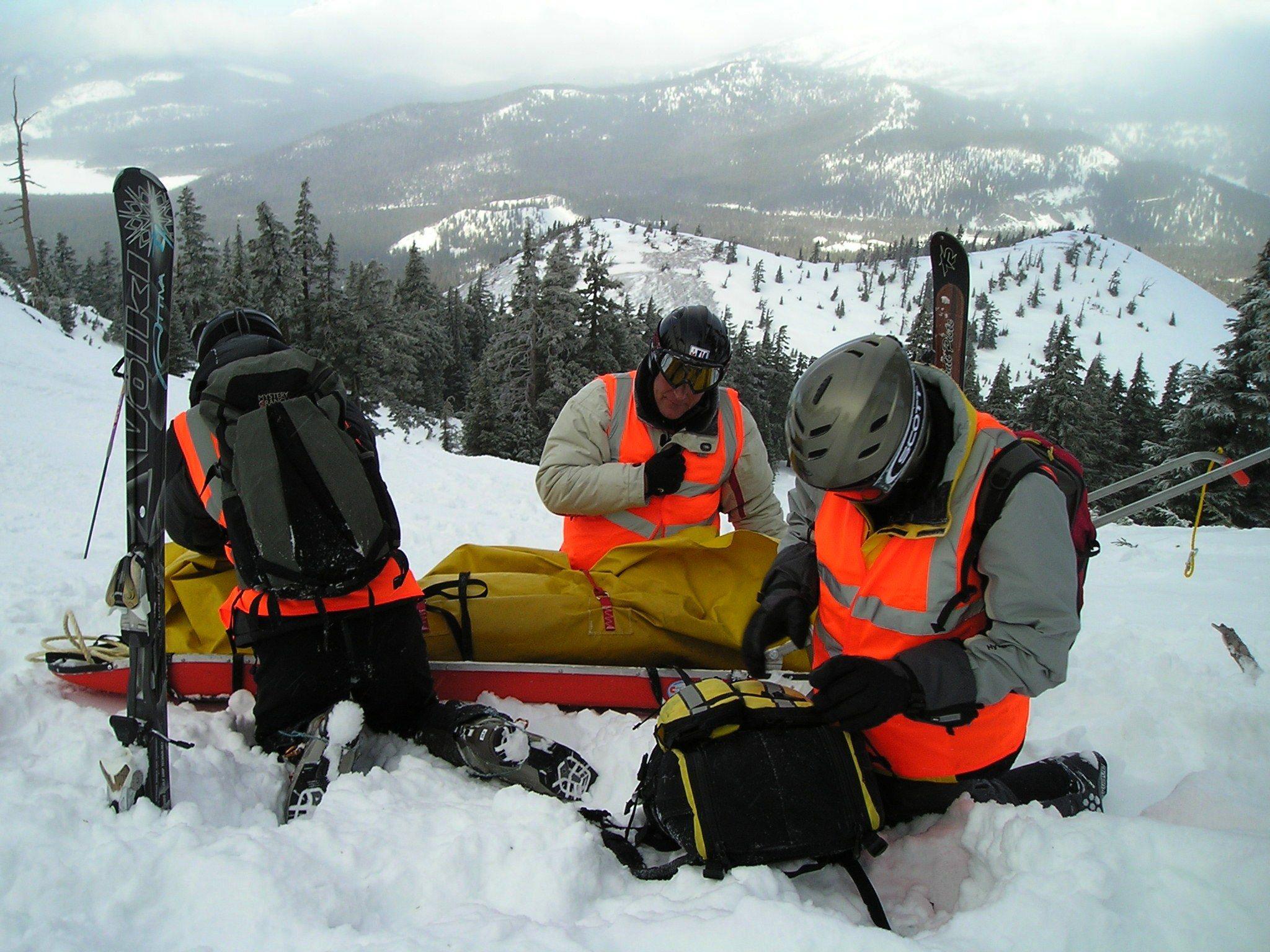 Mt Bachelor National Ski Patrol