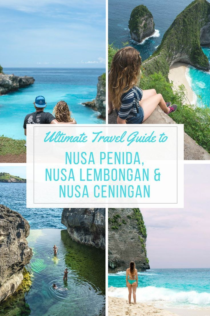 The Ultimate Guide to Nusa Penida, Nusa Lembongan and Nusa Ceningan! Everything about where to stay, eat and what to do in these beautiful islands! #nusalembongan #nusapenida #nusaceningan nusa penida bali, nusa penida day trip, nusa penida island, nusa lembongan bali, nusa lembongan beaches
