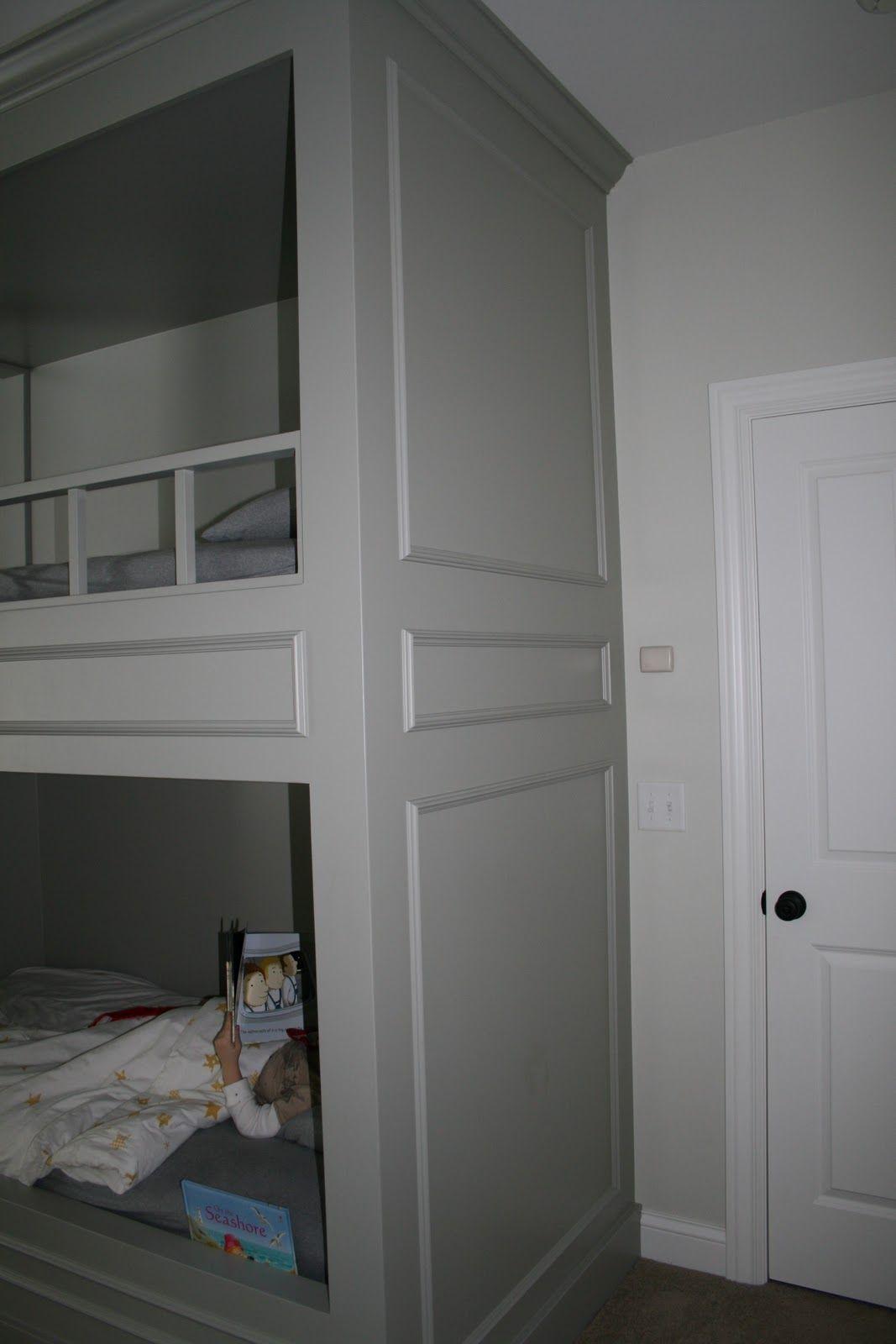 Boy S Bunk Room Bunk Room Bunk Beds Built In Bunks